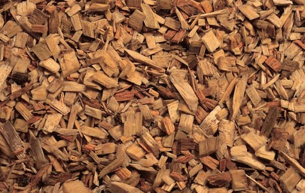 Biomass Wood Chips ~ Wood grinding texas mulch landscape supplier ferris